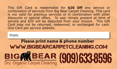 carpet cleaning services coupon